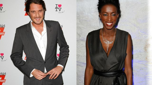 Hapsatou Sy et Vincent Cerutti sont parents