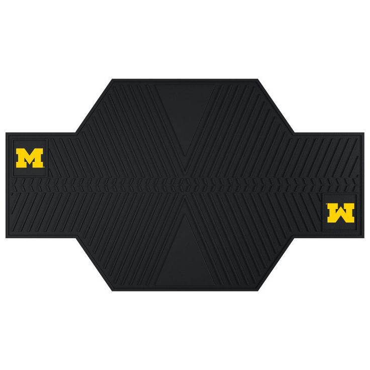 Fan Mats NCAA Collegiate Motorcycle Garage Floor Mat - 15215