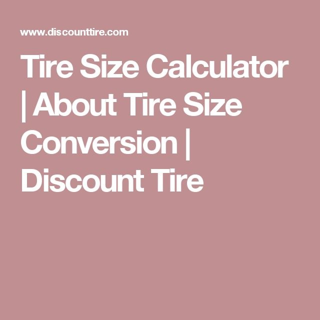 The  Best Tire Size Calculator Ideas On   Tire Size