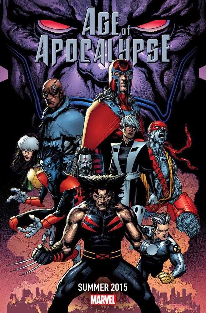 X-Men | Era do Apocalipse é próxima saga da Marvel a voltar em 2015 > Quadrinhos | Omelete