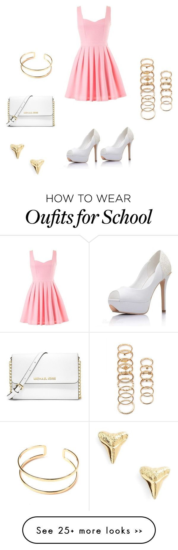 """School dances//aria"" by prettypeeps on Polyvore"