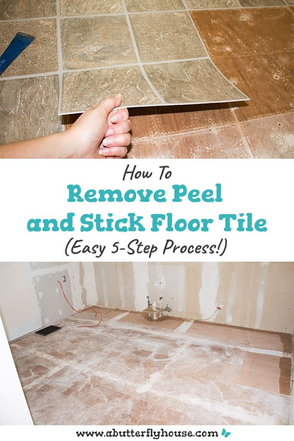 How To Remove Peel And Stick Floor Tile A Butterfly House Peel And Stick Floor Stick On Tiles Peel And Stick Tile