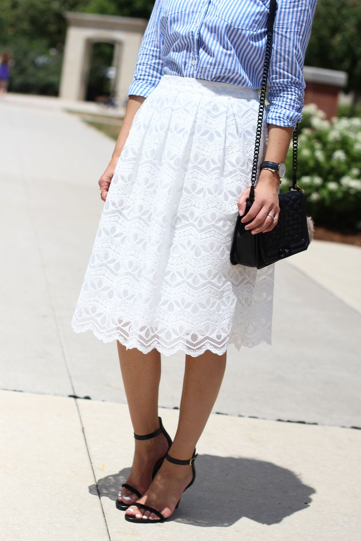 Lace Skirt Style      @lillystyle101 in Mindy Mae's Market