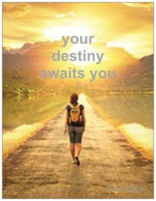 Your #destiny awaits you