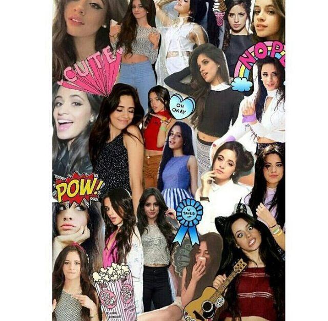 Not mine:camila collage