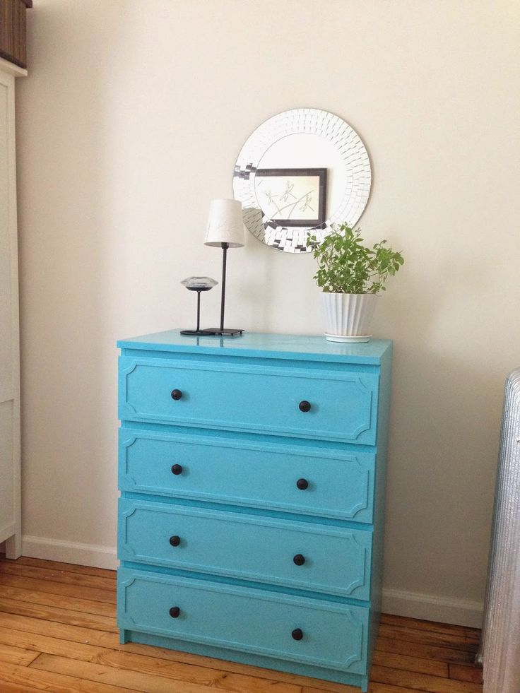 ikea malm dresser makeover decorating pinterest rund ums haus runde und h uschen. Black Bedroom Furniture Sets. Home Design Ideas