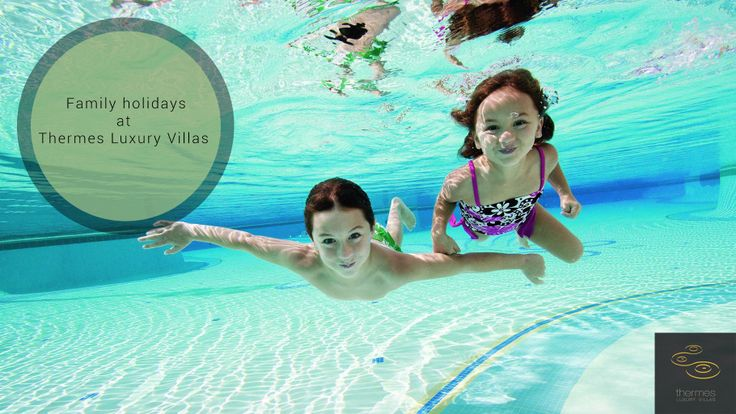 Designed for your total safety and convenience, all properties at Thermes are ideal for big and smaller children too. #family #holiday #Santorini