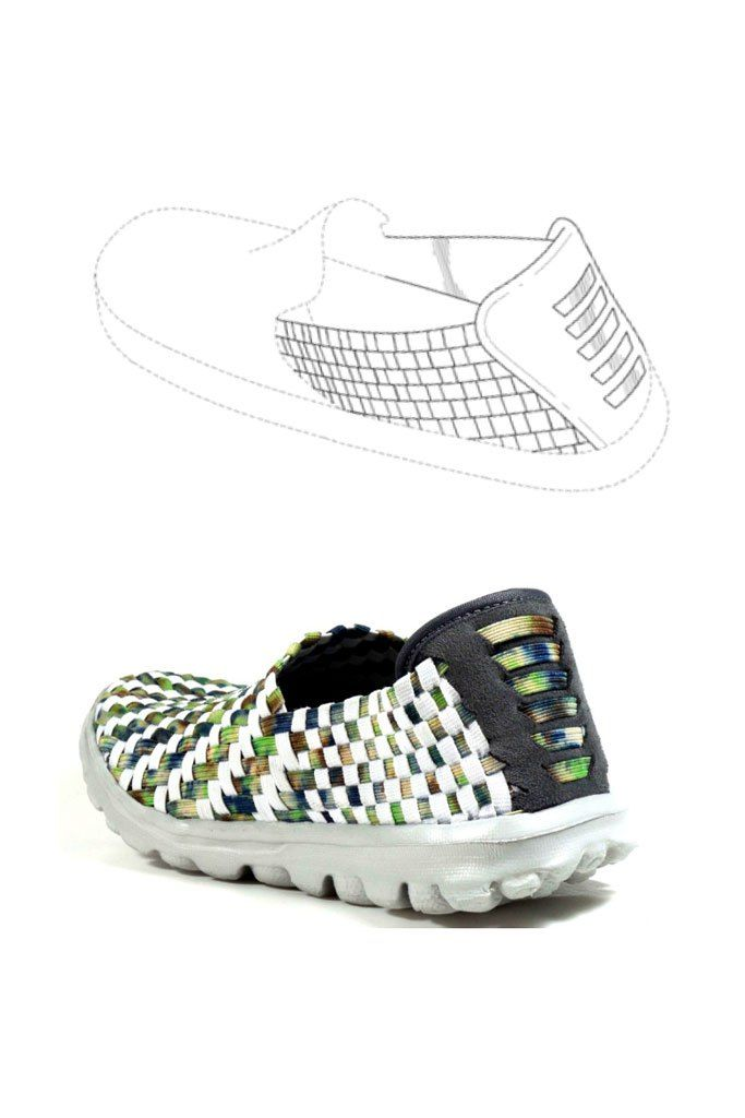 Skechers' Go Walk patents design and the allegedly shoe patent infringing Steve  Madden Setta style