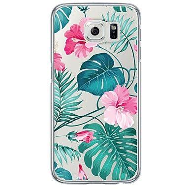 Coque Extra-Fin / Translucide Fleur TPU Doux Couverture de cas pour Samsung Galaxy S7 edge / S7 / S6 edge plus / S6 edge / S6 / S5 / S4 - EUR € 2.93