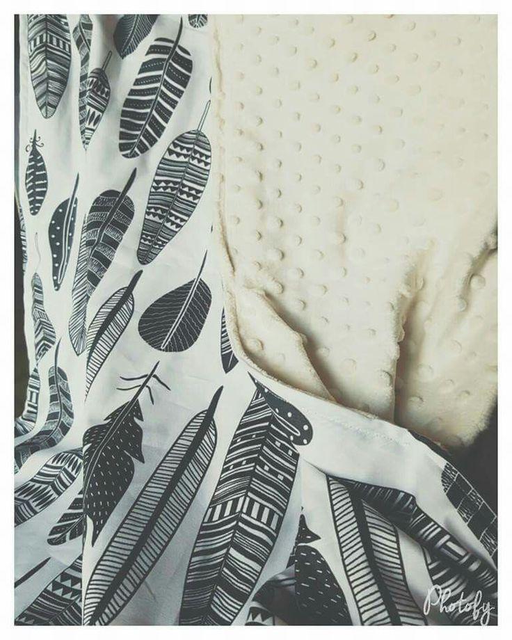 Handmade pram blanket