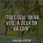 Proverbe africain sur l'esprit d'équipe et l'amitié