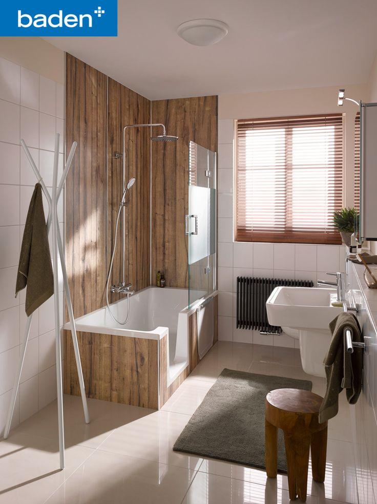 Zowel een luxe bad als douchen, ook in een kleine badkamer? Het kan! Dit douchebad van HSK is prachtig afgewerkt en biedt alle luxe van baden en douchen.