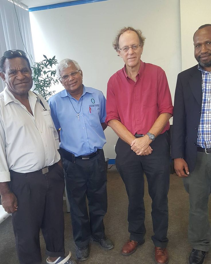 With some of Papua New Guinea's great minds... #ina #png
