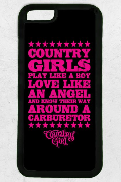 Country Girl® Carburetor iPhone 6 Case/Cover