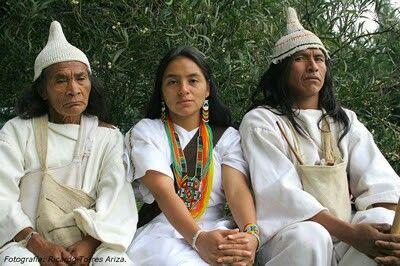 Comunidad indígena Kowi Sierra Nevada Santa Marta Colombia
