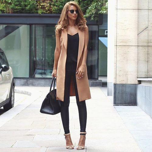 цели, комплект одежды, приятное, верблюд, девушки, чёрный, девушка, загар, мода