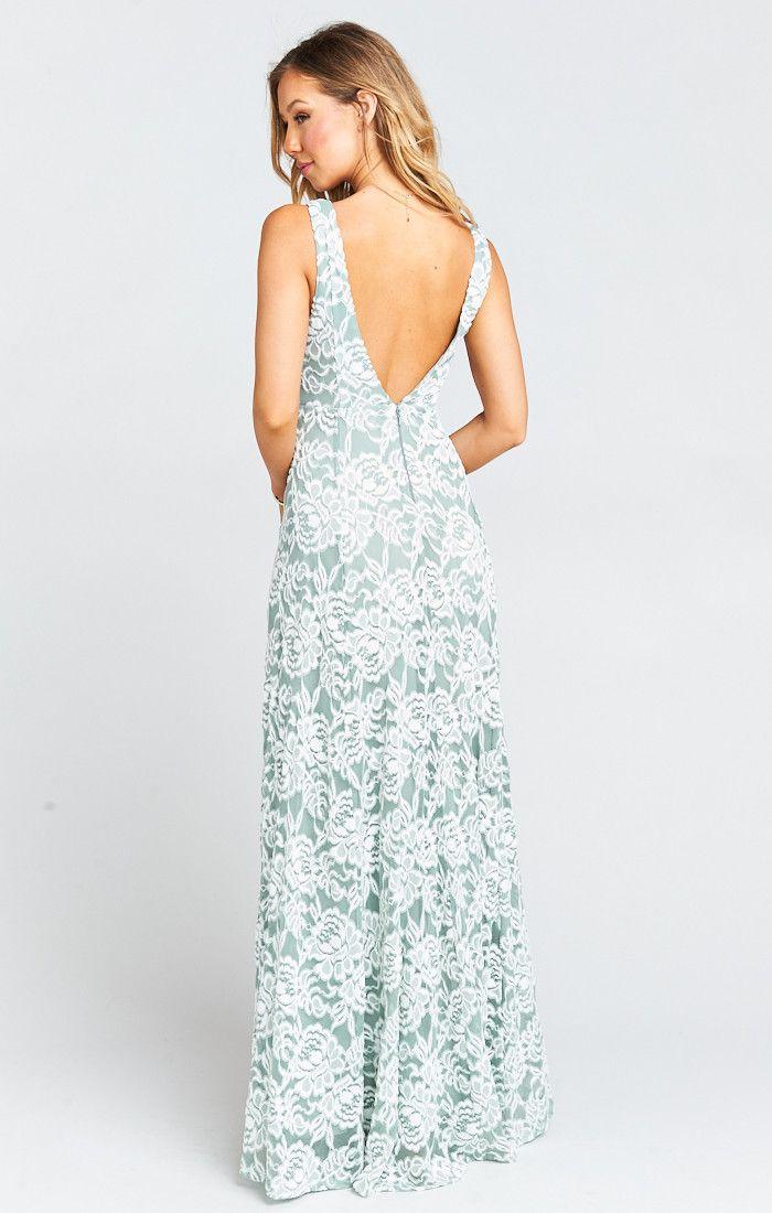 99f918c7de1e Jenn Maxi Dress ~ Lovers Lace Silver Sage | Wedding day #love ...