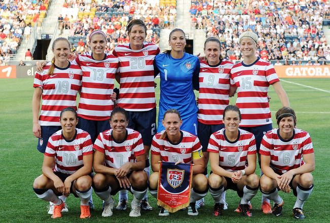US Women's Soccer Team, 2012 Summer Olympics