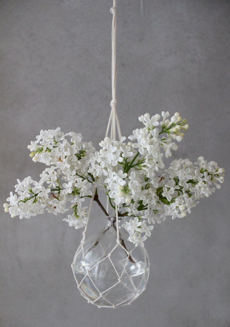 "Hanging vase ""The Catch"" havsglas.se"
