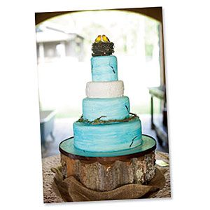 Love the cake stand...Uniquely Southern Wedding Cakes | Farm-Style Wedding Cake | SouthernLiving.com
