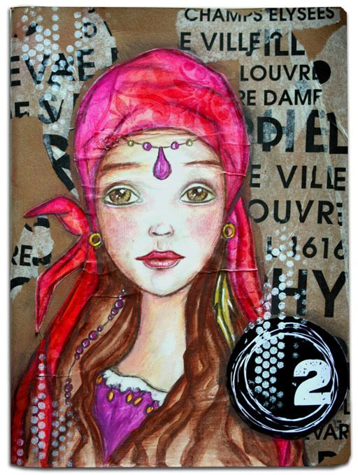 inspiration Tamara Laporte - Willowing Art
