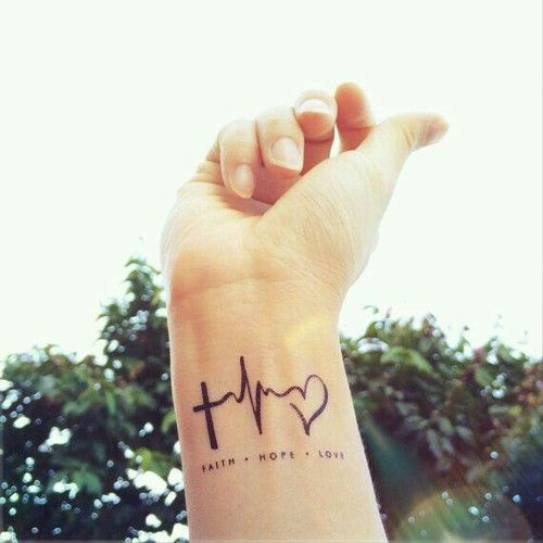 Cute and special wrist tattoo