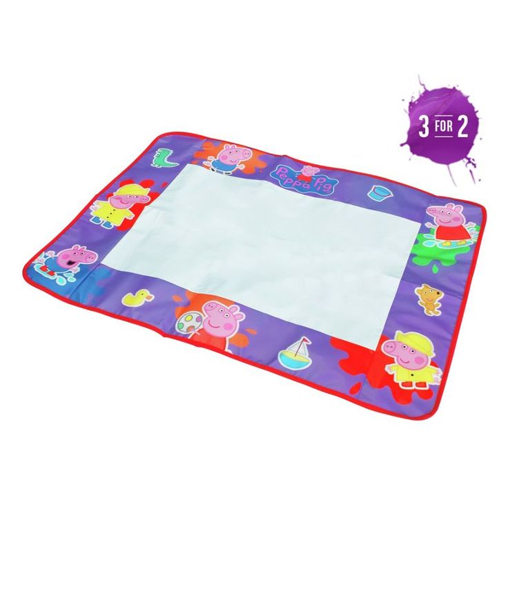 Buy Tomy Aquadoodle Peppa Pig at Argos.co.uk - Your Online Shop for Pre-school creative toys, Arts, crafts and creative toys.