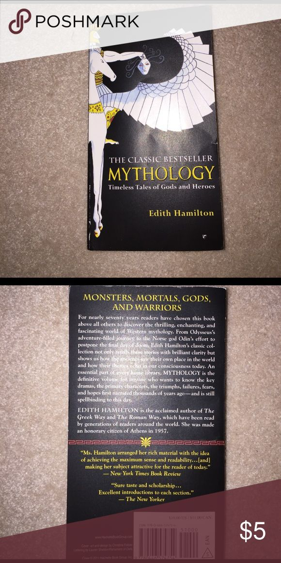 Mythology- Timeless Tales of Gods and Heroes Timeless Tales of gods and heroes... written by Edith Hamilton!! Other