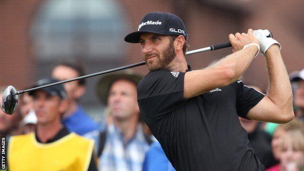Dustin Johnson: Golfer denies having cocaine problem - Source - BBC News - © 2014 BBC #Johnson, #Golf, #Cocaine