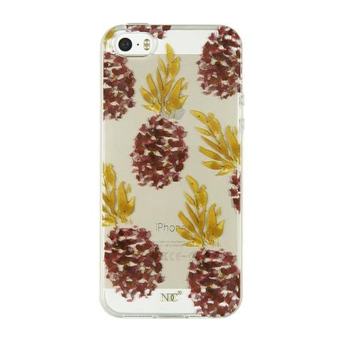 Ananas iPhone case (5/5S/SE) by NUNUCO® #iphonecase #nunucodesign