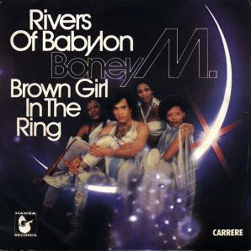 (1978 best selling single) Rivers Of Babylon / Brown Girl In The Ring - Boney M (Atlantic/Hansa) No. 1 http://www.officialcharts.com/chart-news/the-biggest-song-of-every-year-revealed__13409/