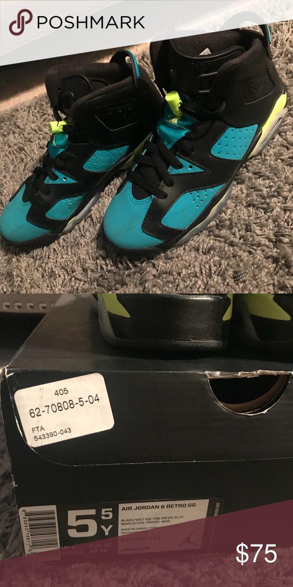 Air Jordan 6 Retro, Big Kids Size 5.5