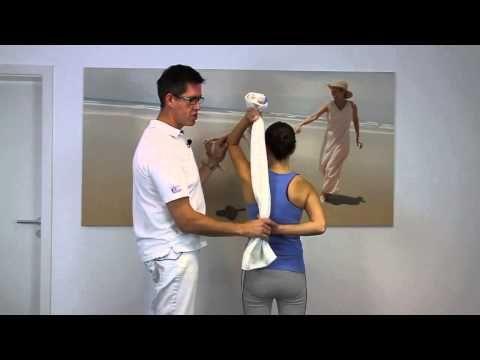 Dehnung und Gymnastik bei Impingement der Schulter - YouTube