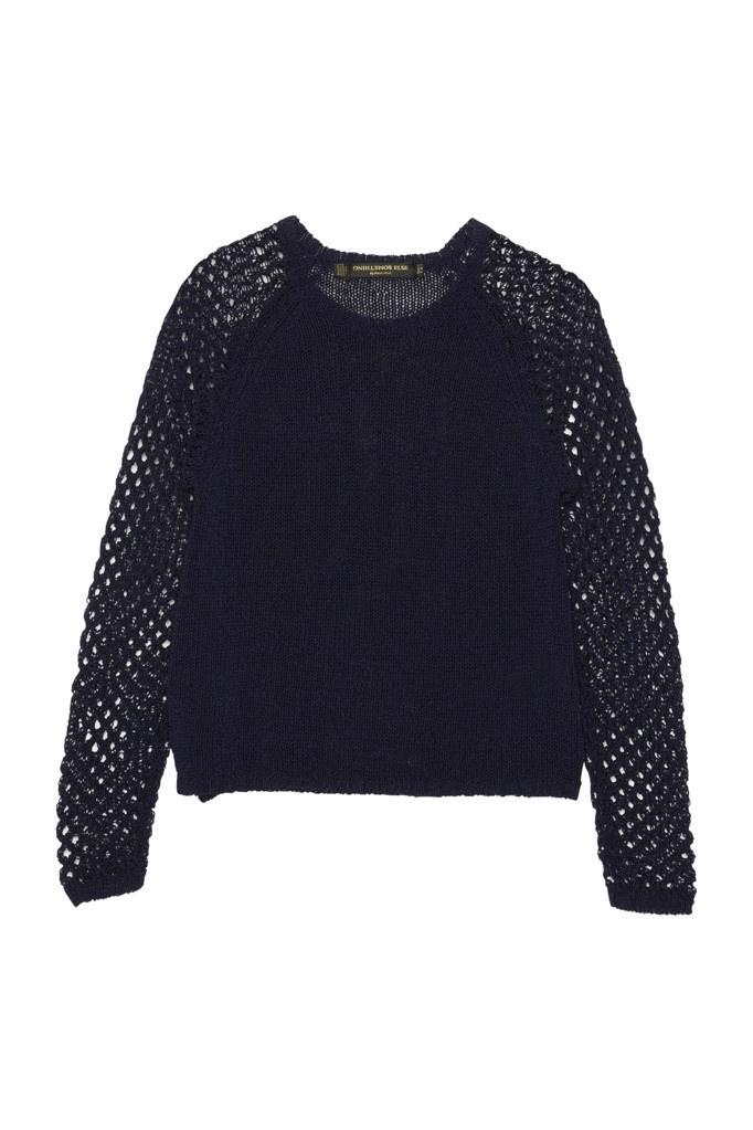 Mesh Sleeve Sweater – Something Else