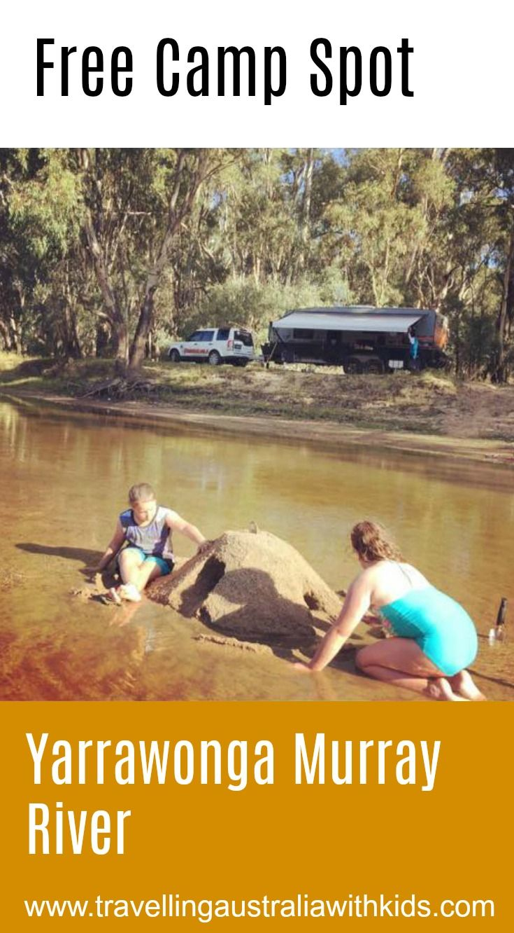 Oh The Mighty Murray!  Perfect spot for the family to Free Camp