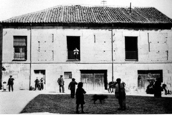 Salamanca en el ayer: Fotos Misteriosas escena urbana arthur byne