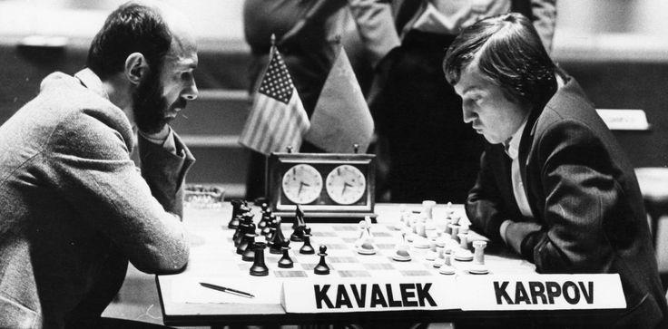 Lubomir Kavalek vs Anatoly Karpov