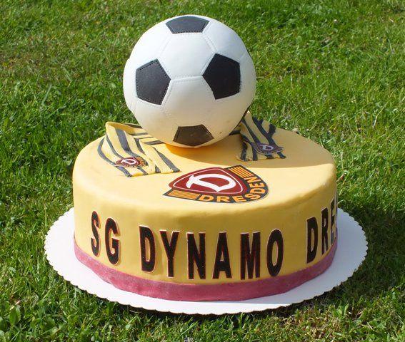 Dynamo Dresden Fan Torte