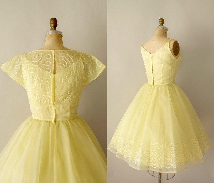 Limoncello evening dress