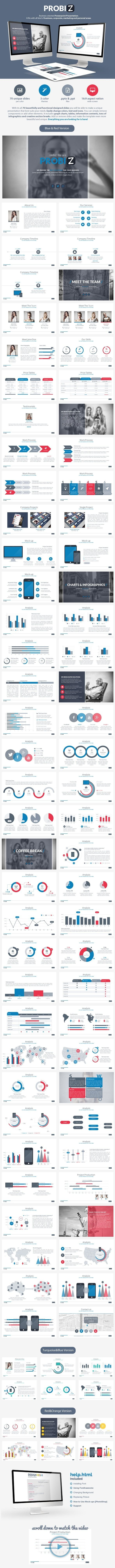 ProBiz Powerpoint Presentation (Powerpoint Templates)