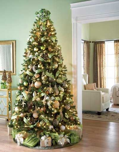 1523 best images about arboles de navidad on pinterest for Ideas para decorar el arbol de navidad