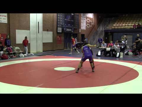 2015 Stu Hart Duals: 60 kg Prabhjot Dhaliwal (BC) vs. Koral Sugiyama (USA)