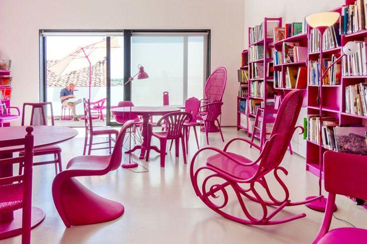 創意的藝術裝置!Ricardo Páramo 為 CAB 設計閱覽室!