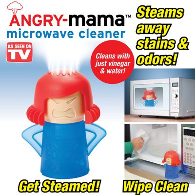 Angry Mama® Microwave Cleaner