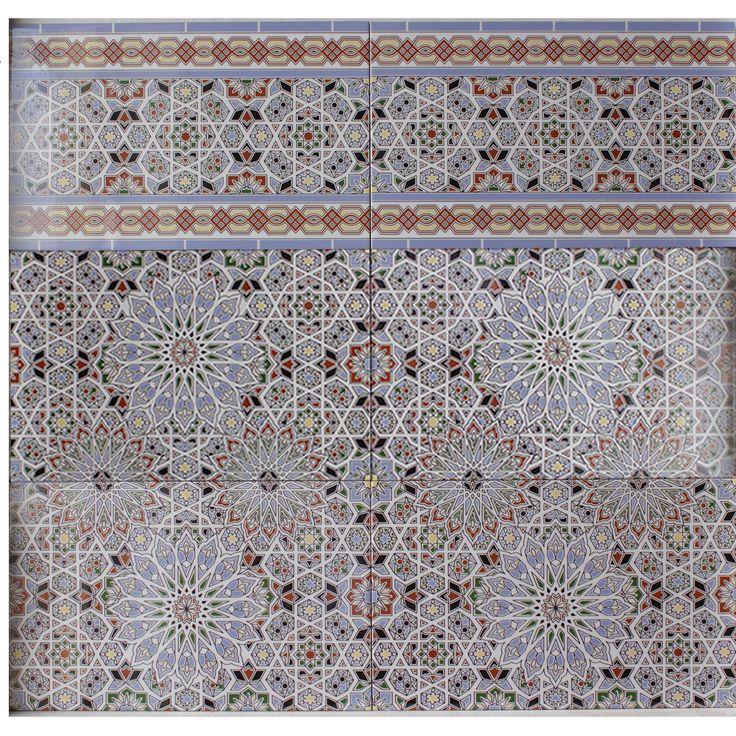 Tapeten Marokkanische Muster : ?ber 1.000 Ideen zu ?Marokkanische Fliesen auf Pinterest Kacheln
