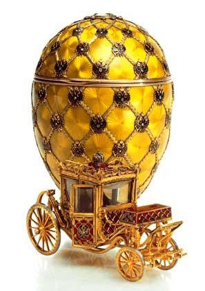 Das Krönungs-Ei: Es gilt als das wertvollste der Fabergé-Eier