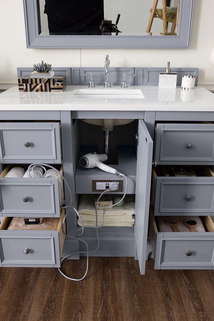 De Soto 118″ Double Bathroom Vanity