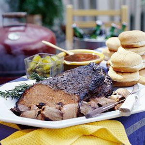 Smoky Barbecue Recipes | Smoked Brisket | SouthernLiving.com