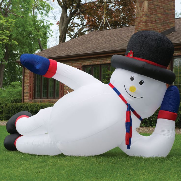Funny Christmas Inflatable Yard Decorations: 88 Best Images About Frosty The Snowman Inflatable On