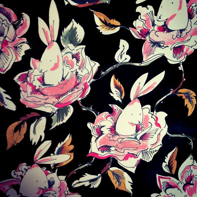 Rabbits & Roses - IMERNST
